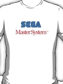 Sega Master System - colour T-Shirt