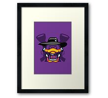 Hello Drakie Framed Print