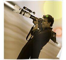 Fiaz Tariq & His Nikon D20000 Bazooka Camera Poster
