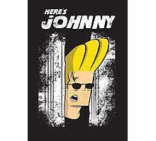 Here's johnny Photographic Print