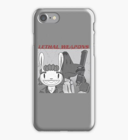 Lethal Weapons iPhone Case/Skin