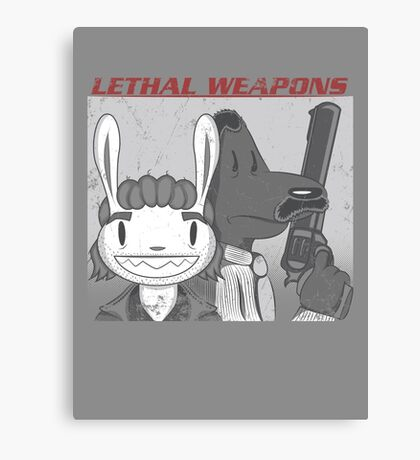 Lethal Weapons Canvas Print