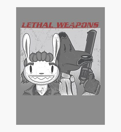 Lethal Weapons Photographic Print