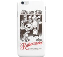 Rubacava (White) iPhone Case/Skin