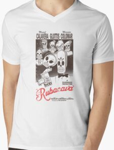 Rubacava (White) Mens V-Neck T-Shirt