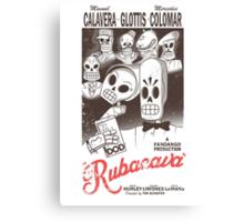 Rubacava (White) Canvas Print