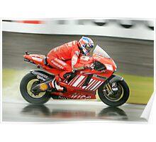 British Moto Grand Prix 7 Poster