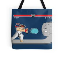 Fighter Of Streets Tote Bag