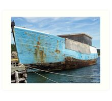 The Forgotten Vessel Art Print
