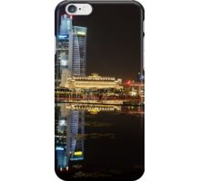 Singapore: Fullerton Hotel and Finance Centre Skyline iPhone Case/Skin