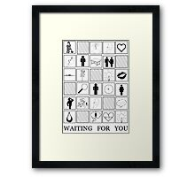 """Waiting For You"" Grizfolk Framed Print"