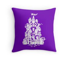 Day at the Mansion Throw Pillow
