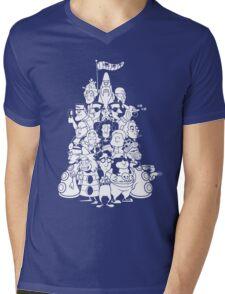 Day at the Mansion Mens V-Neck T-Shirt