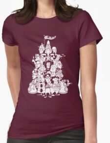 Day at the Mansion Womens Fitted T-Shirt