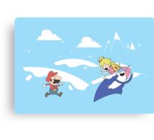 Mario's Adventure Canvas Print