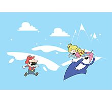 Mario's Adventure Photographic Print