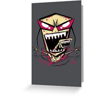 Chest burst of Doom Greeting Card