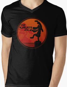 The Karate Dog  Mens V-Neck T-Shirt