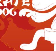 The Karate Dog  Sticker
