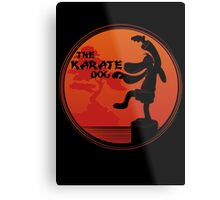 The Karate Dog  Metal Print