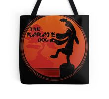 The Karate Dog  Tote Bag