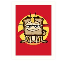 Meowth Breading Art Print