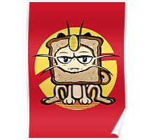 Meowth Breading Poster