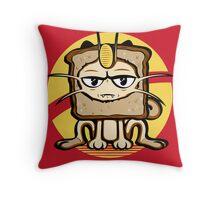 Meowth Breading Throw Pillow