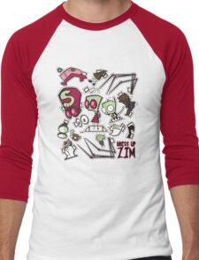 Dress up Zim Men's Baseball ¾ T-Shirt