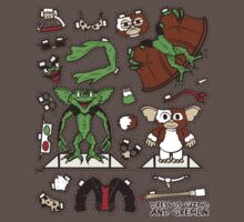 Dress up Gizmo and Gremlin Baby Tee