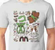 Dress up Gizmo and Gremlin Unisex T-Shirt