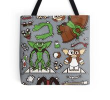 Dress up Gizmo and Gremlin Tote Bag