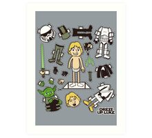 Dress up Luke Art Print