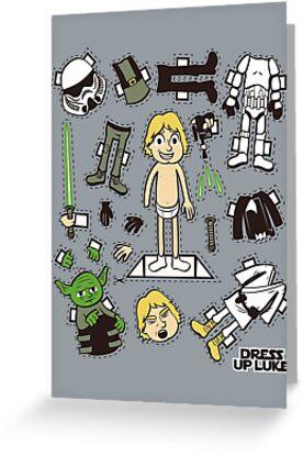 Dress up Luke by Scott Weston
