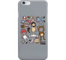Dress up Mario iPhone Case/Skin