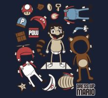 Dress up Mario One Piece - Long Sleeve