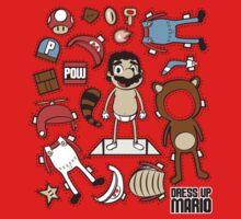 Dress up Mario One Piece - Short Sleeve