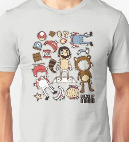 Dress up Mario Unisex T-Shirt