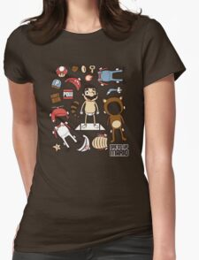 Dress up Mario Womens Fitted T-Shirt