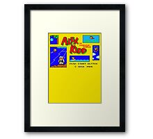 Alex Kidd Framed Print