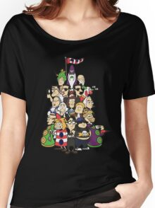 Day at the Mansion in colour! Women's Relaxed Fit T-Shirt