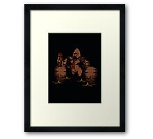 These are our bananas! Framed Print