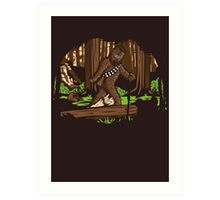 Bigfoot Art Print
