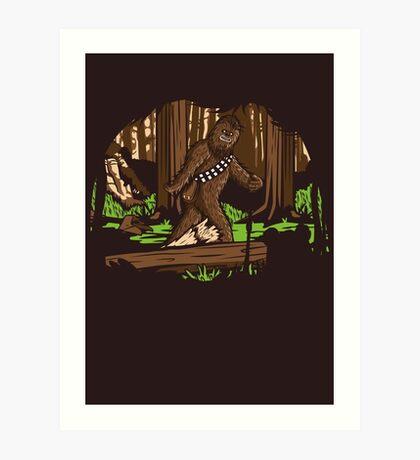 Bigfoot Art Print