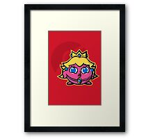 Peachypuff Framed Print