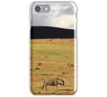 Lone Wildebeest iPhone Case/Skin