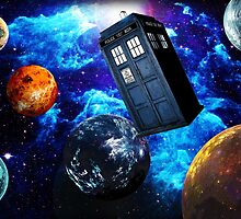 Doctor Who Space by budwick5750