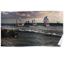 Moluccan Fleet Poster