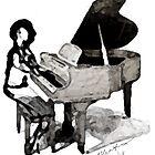 Roy Al Piano for Sarah Vaughn by RoyAllen Hunt