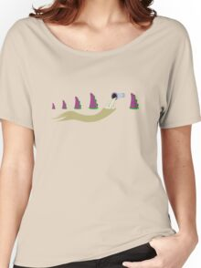 Evolution of Purple Tentacle Women's Relaxed Fit T-Shirt